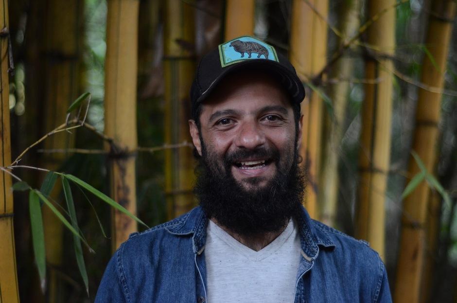 Giovanni Pinzón, vocalista de Bohemia cumple años. (Foto: Selene Mejía/Soy502)