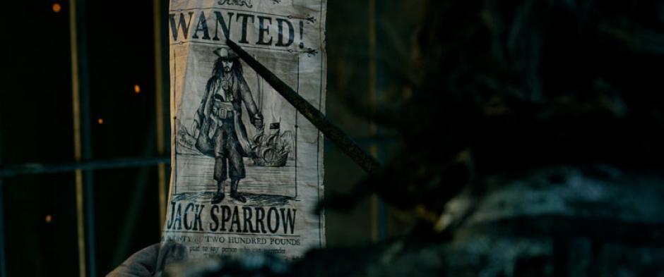 """""""Los Piratas del Caribe"""" también dieron un adelanto de su nueva entrega. (Foto: Pirates of the Caribbean)"""
