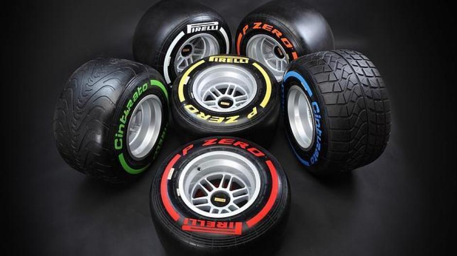 Neumáticos, F1; Pirelli, 2014, Baréin