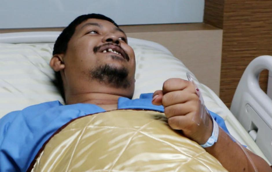 La víctima se recupera en un hospital luego de ser atacado por una pitón. (Foto: www.panamaamerica.com.pa)