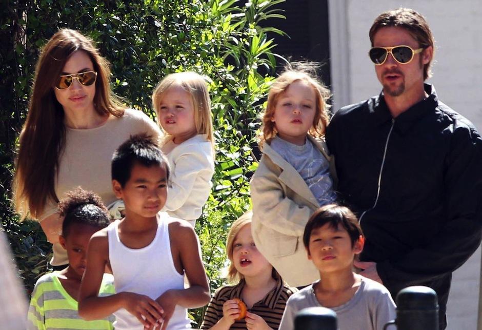 Brad necesitará supervisión de un especialista para ver a sus hijos. (Foto: fmdos.com)