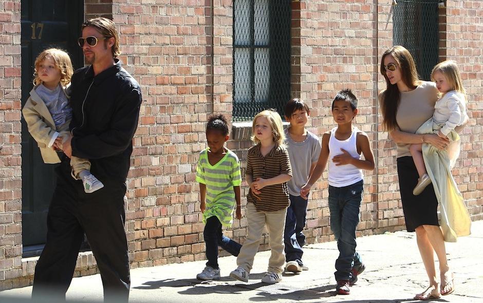 Pitt solo podrá ver a sus hijos bajo un extraño trato. (Foto: libertaddigital.com)