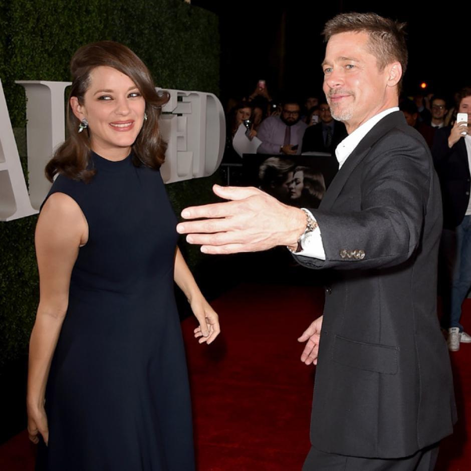 Ambos asistieron al estreno de la película Allied que grabaron juntos. (Foto: Hola)
