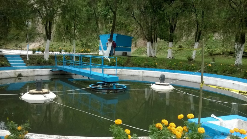 La planta de tratamiento San Cristóbal se reinauguró después de haber estado abandonada seis años. (Foto: Twitter, AMSA)