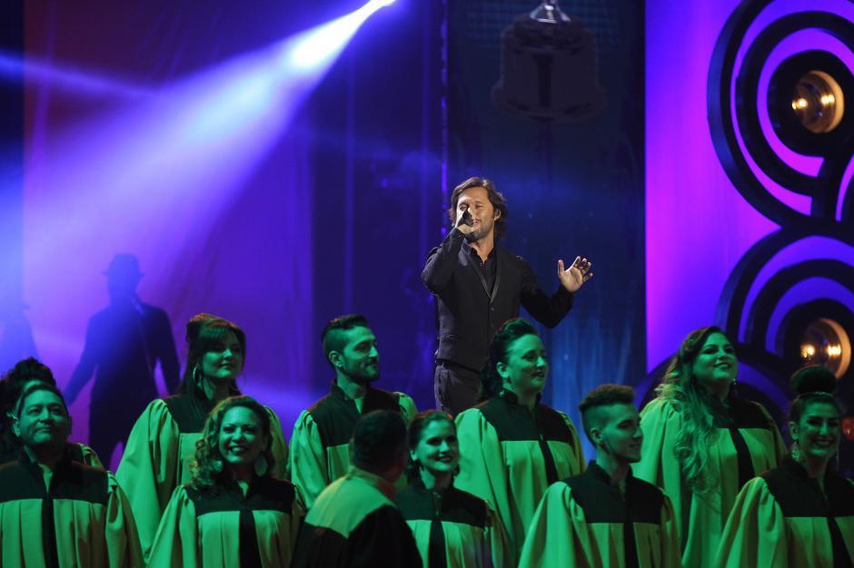 Diego Torres fue uno de los artistas que engalanó con su música. (Foto: Juan Ignacio Mazzoni/EFE)