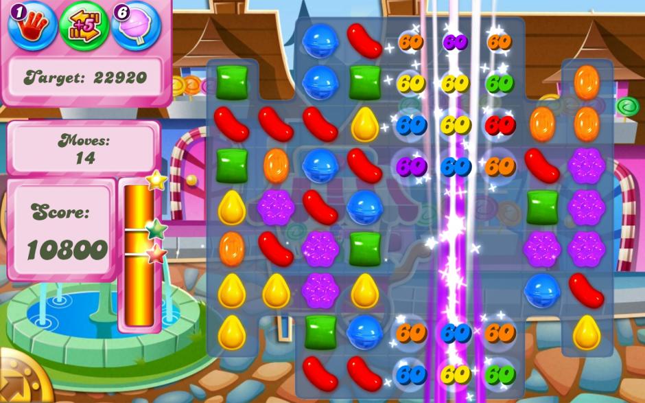 Candy Crush es la aplicación de juegos que más tiempo lleva como el número uno de los consumidores de energía. (Imagen: play.google.com)