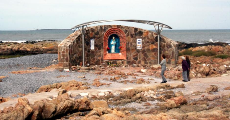 Este es el lugar en donde se ubicaba la Virgen en Punta del Este, Uruguay. (Foto: viajeauruguay.com)