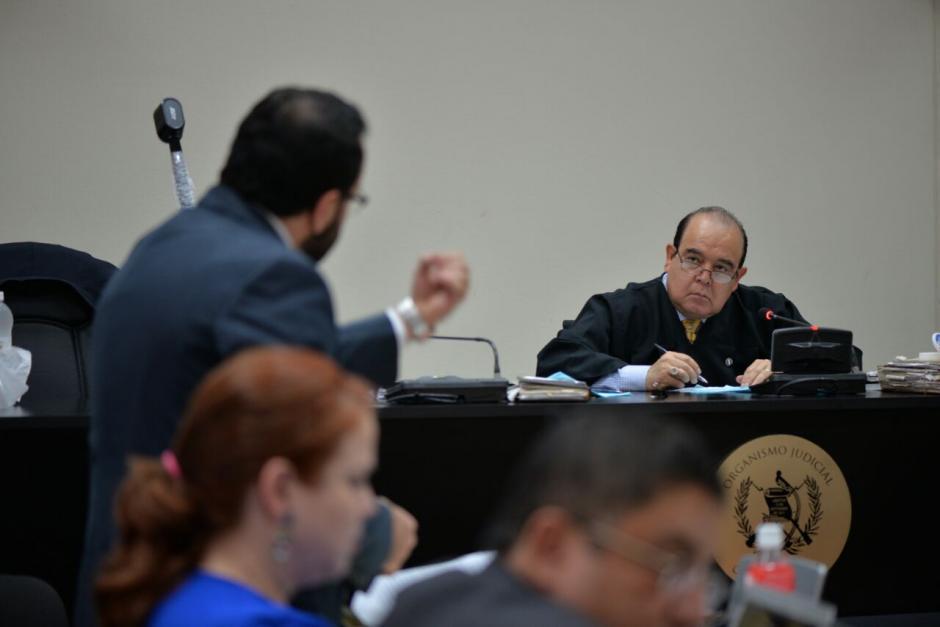 El juez Walter Villatoro citó a otros sindicados para los próximos días. (Foto: Wilder López/Soy502)