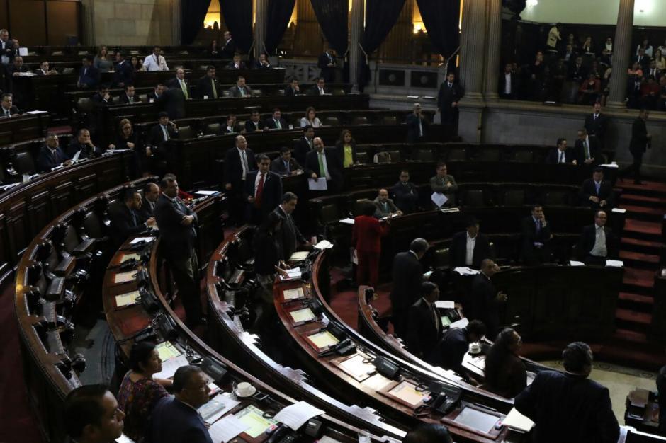 Los diputados conocen las reformas constitucionales este lunes. (Foto: Alejandro Balán/Soy502)