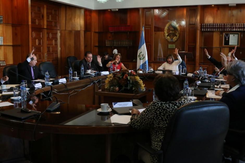 La CSJ sigue sin elegir a su presidente. (Foto: Alejandro Balán/Soy502)