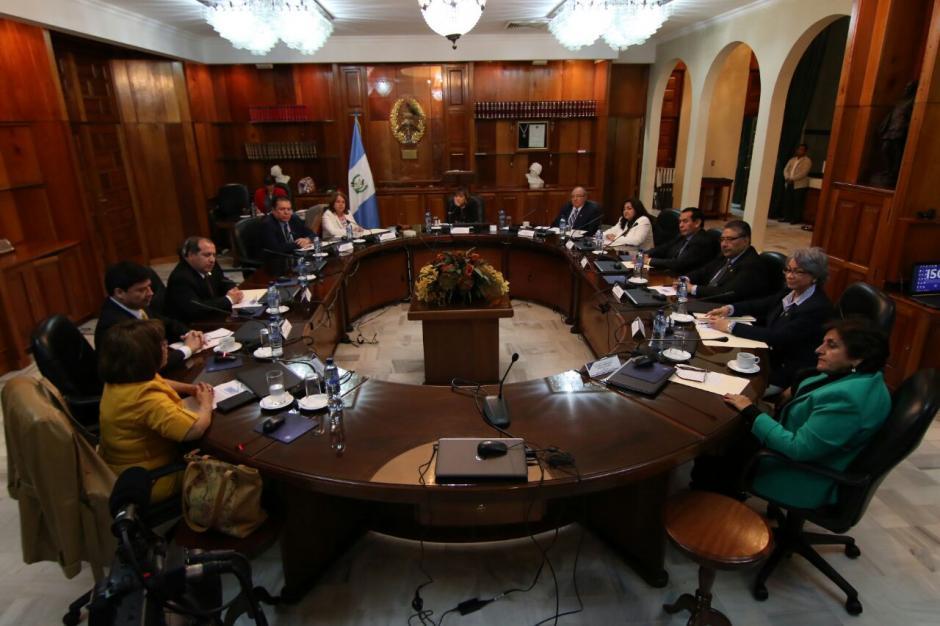 Los magistrados se reunieron sábado y domingo. (Foto: Alejandro Balán/Soy502)