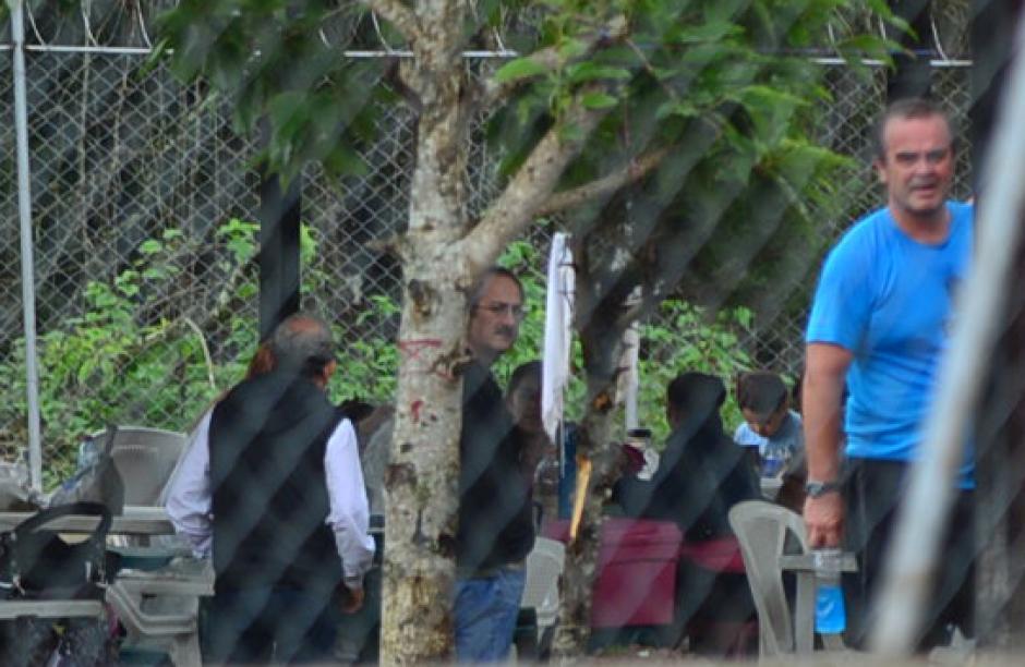 Uno de los recluidos en este centro es Pedro Muadi, que trató de ocultarse de los medios de comunicación. (Foto: Wilder López/Soy502)