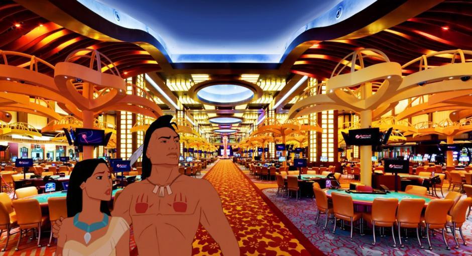 Pocahontas descubriría Las Vegas. (Imagen: disneyunhappilyeverafter)