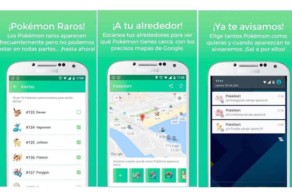 Descarga la app PokéAlert en Google Play totalmente gratis. (Foto: Google Play)