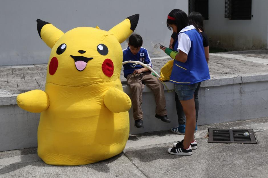 Ash y Pikachu fueron los más populares durante la Pokécon. (Foto Alejandro Balán/Soy502)