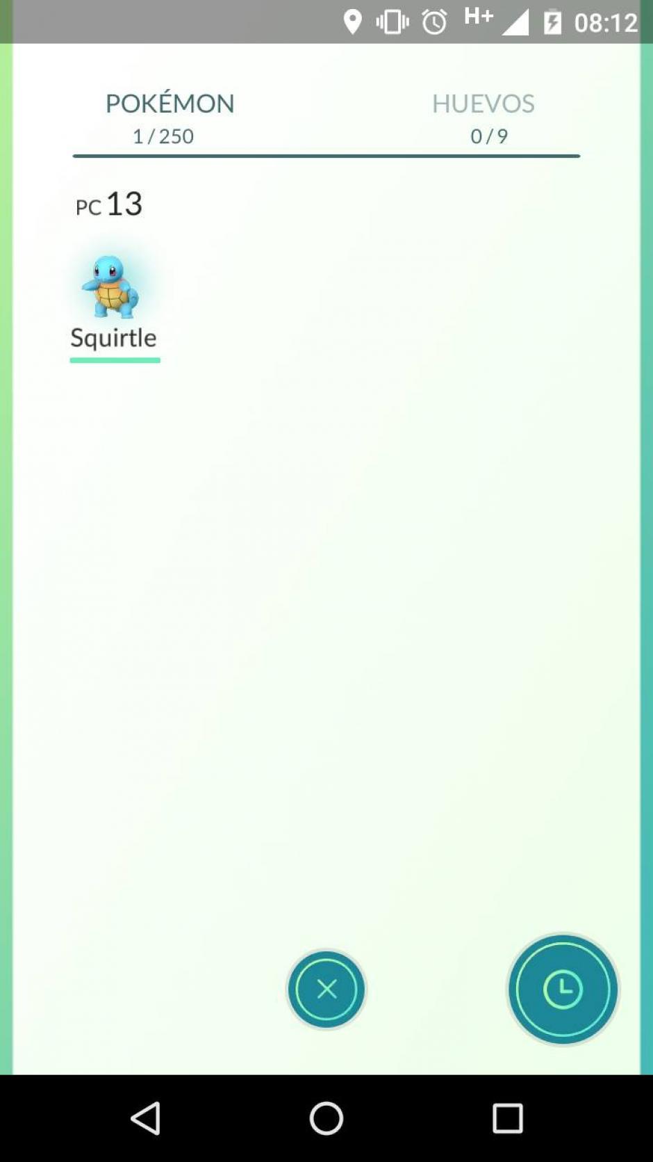 Puedes ver el registro de los Pokemones encontrados. (Captura de pantalla: Soy502)