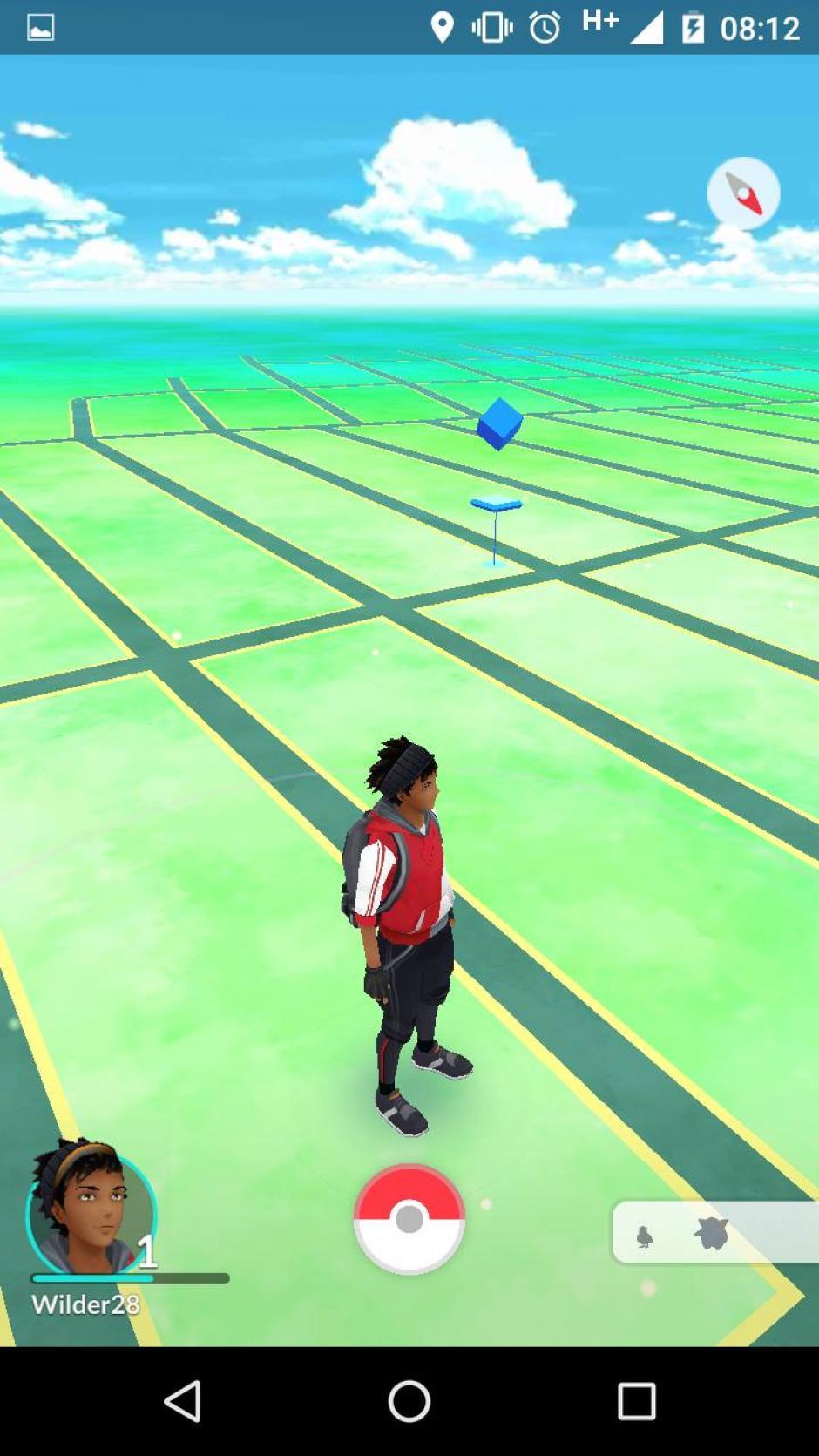 Cuando tengas activado el GPS de la aplicación te indicará donde hay una posible presa. (Captura de pantalla: Soy502)