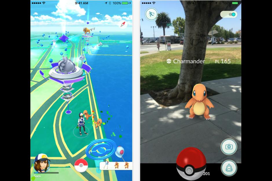 Pokémon Go es un juego de realidad aumentada que utiliza coordenadas de GPS de un smartphone para funcionar. (Imagen: Pokémon Go)