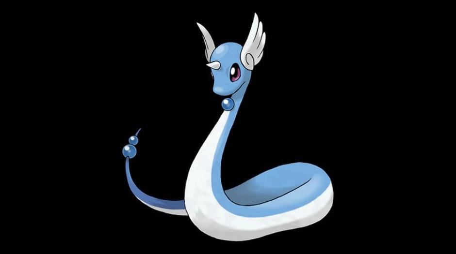 El elegante Dragonair tiene una tasa de captura del 8%. (Foto: Pokémon)