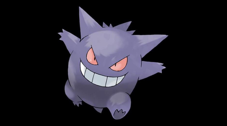 El fantasmagórico Gengar tiene una tasa de captura del 8%. (Foto: Pokémon)