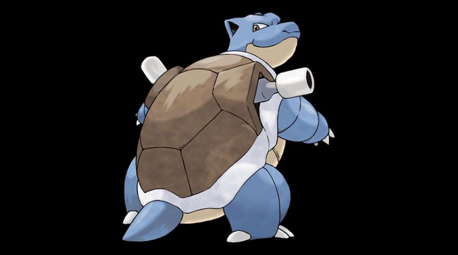 Un Blastoise cuenta con una tasa de captura del 4%. (Foto: Pokémon)