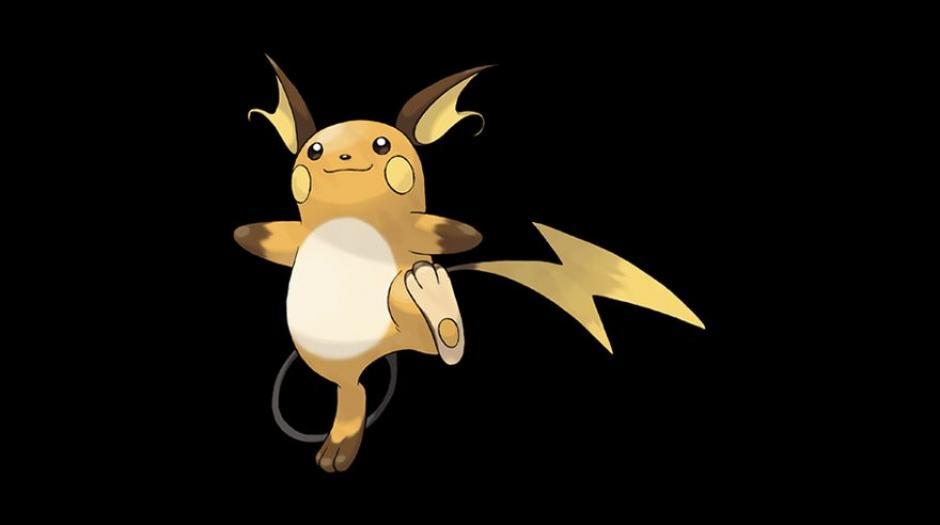 El eléctrico Raichu tiene una tasa de captura del 8%. (Foto: Pokémon)