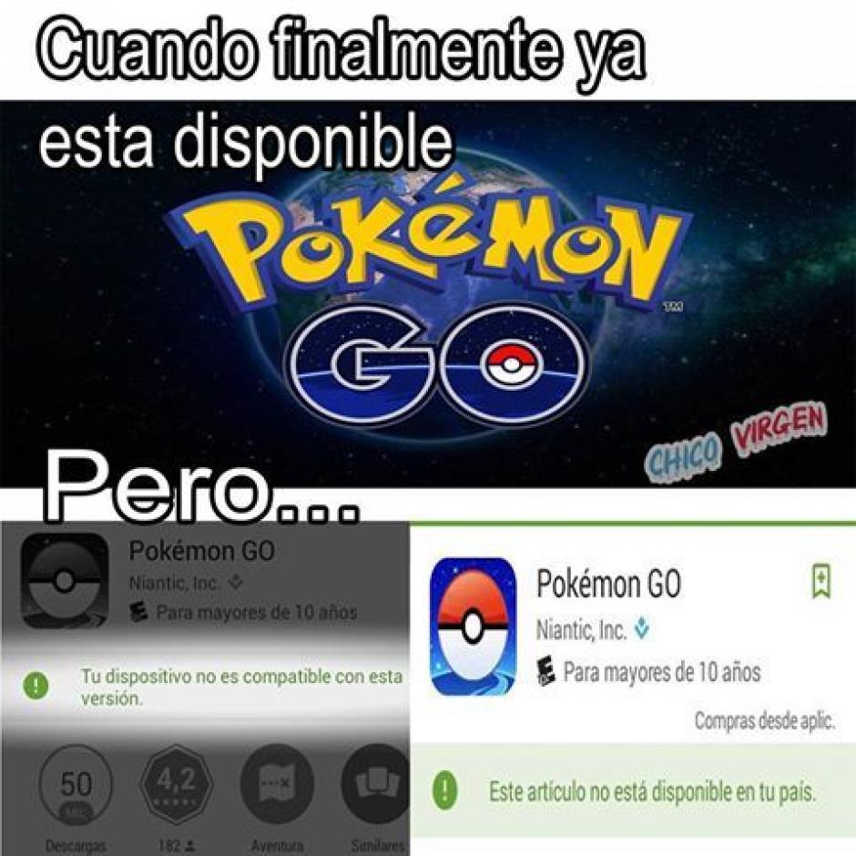 El juego no está disponible en todos los países. (Imagen: sopitas.com)