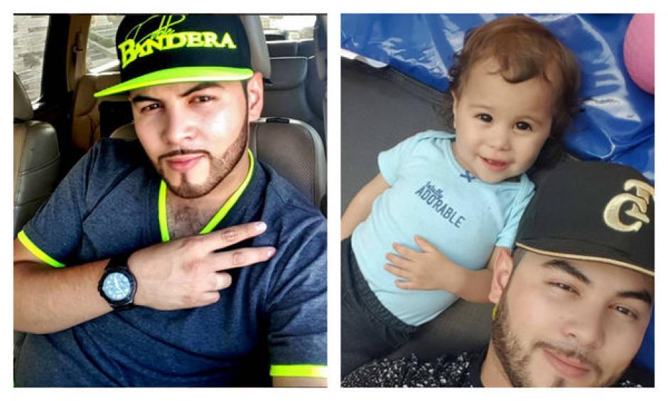 Eduardo Ochoa junto a su hija, a quien le envió un mensaje en vivo tras ser baleado. (Foto: Twitter)