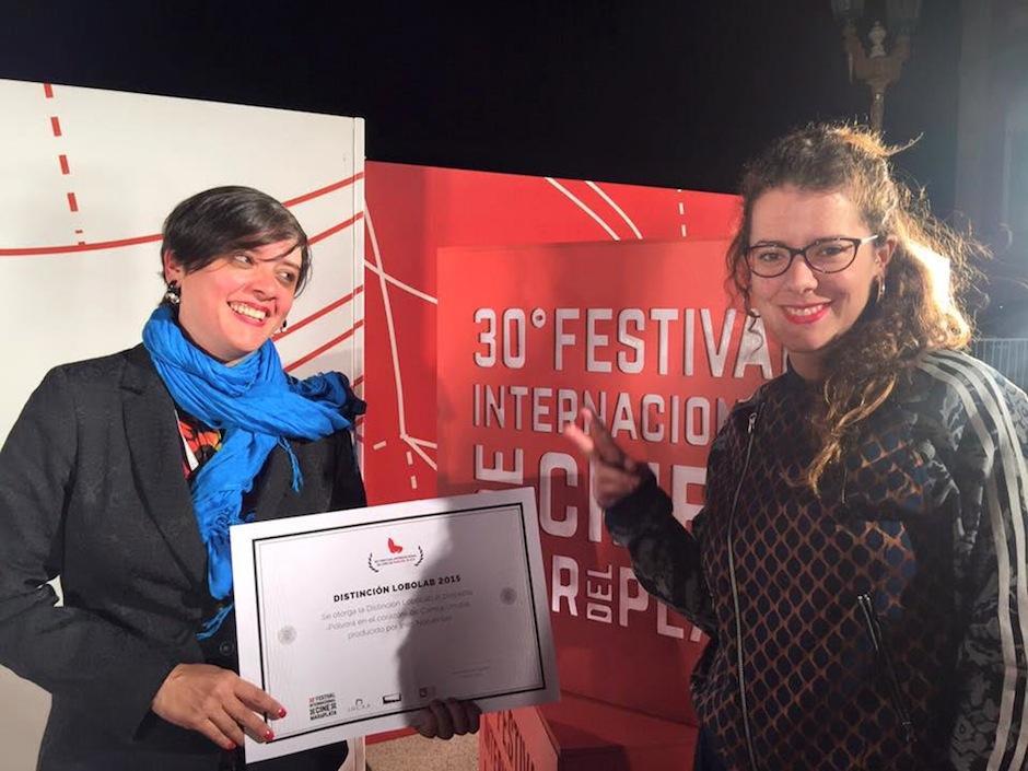 """El proyecto recibió el galardón """"Distinción Lobolab 2015"""" en el 30 Festival de Cine de Mar de Plata. (Foto: Pólvora en el corazón)"""