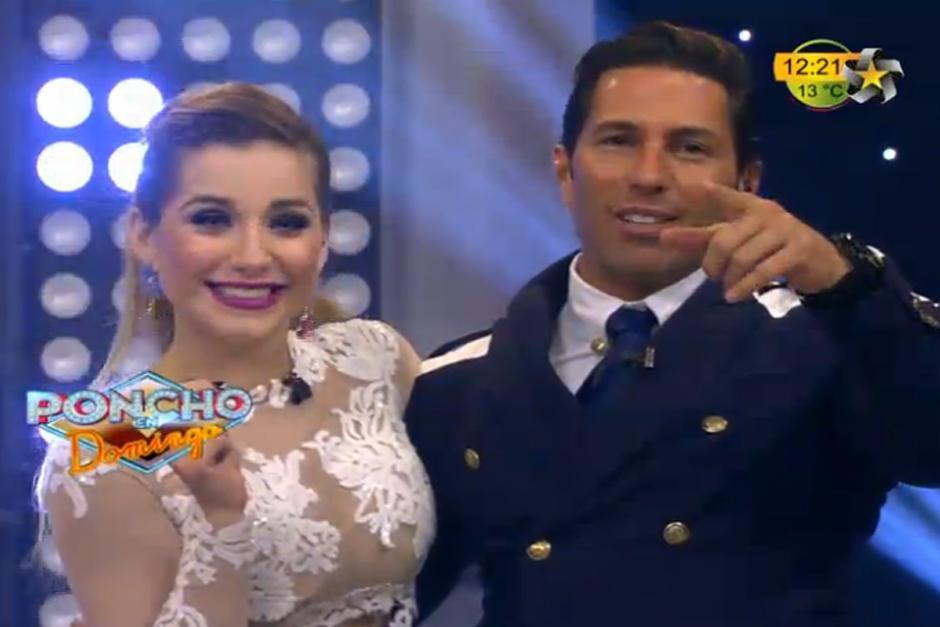 El actor y modelo le pidió matrimonio a la presentadora del pronóstico del tiempo, Marcela Mistral.