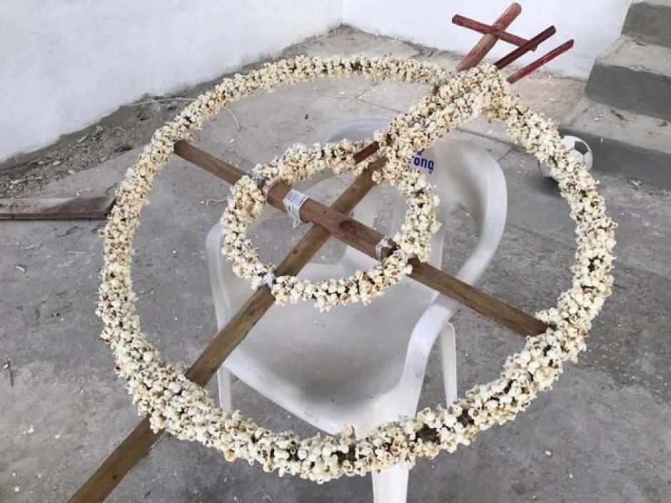 En algunos lugares de México se mantiene la costumbre de adornar las Iglesias con palomitas de maíz. (Foto: Archivo)