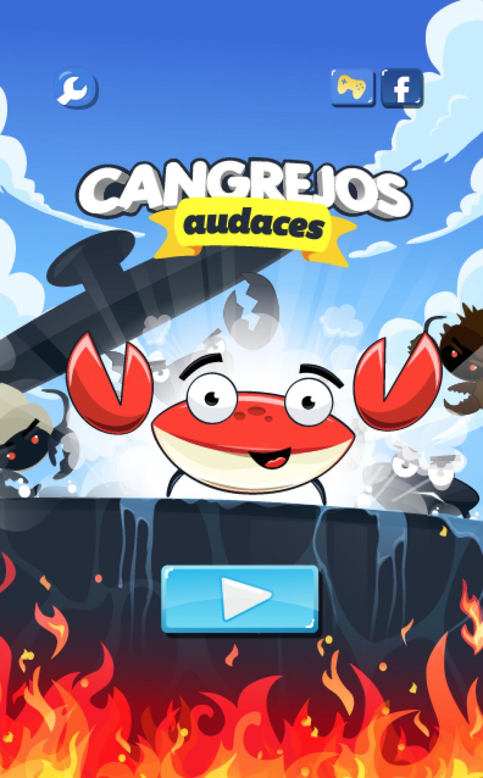 El juego Cangrejos Audaces ya se puede descargar enGoogle Play y App Store. (Foto:Digital Partners)