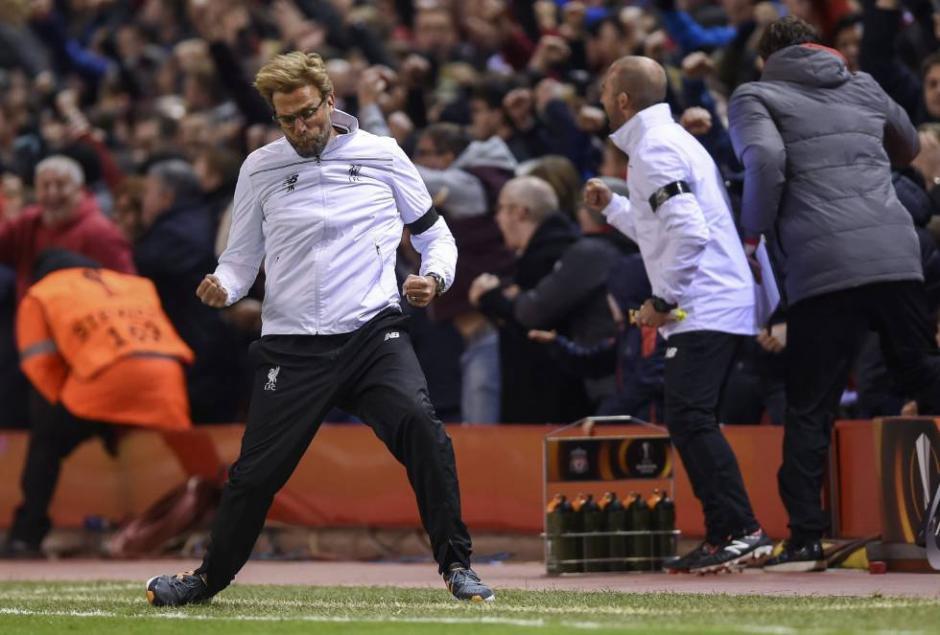 Jürgen Klopp, técnico del Liverpool explotó al final del partido: (Foto: portalnet.cl)