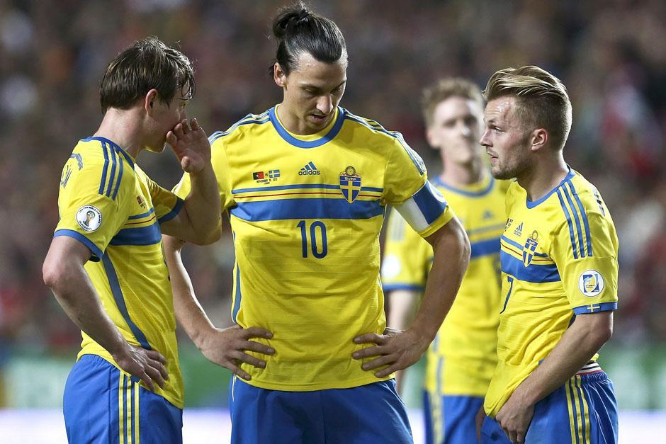 Zlatan Ibrahimovic es el goleador y máximo estandarte de la Selección de Suecia. (Foto: AFP)