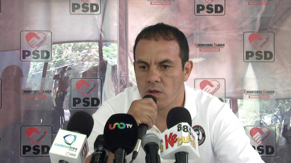 El alcalde de Cuernavaca explicó que es una estrategia de un partido opositor. (Foto: Posta)