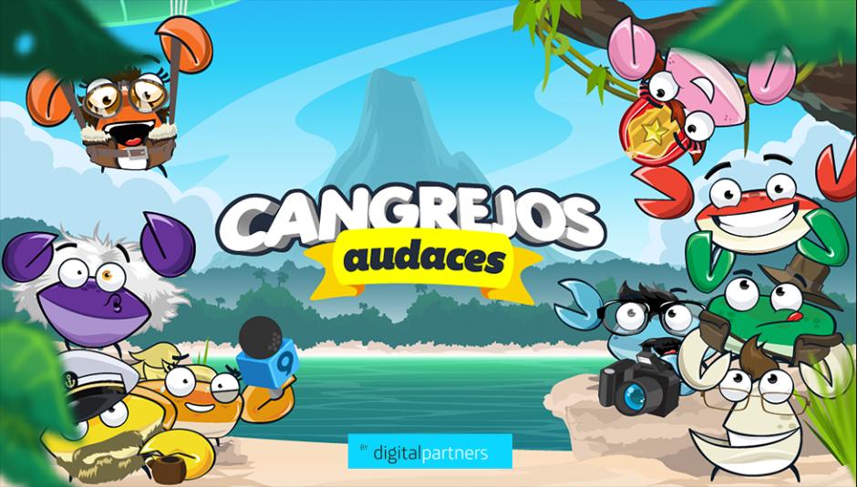 """Diviértete con el videojuego """"Cangrejos audaces"""". (Foto:Digital Partners)"""