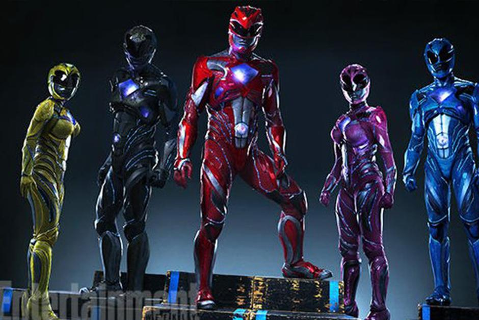 Los Power Rangers regresarán a la pantalla grande en marzo del 2017. (Foto: Entertainment Weekly)