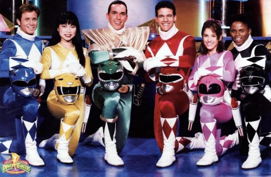 Tres de los personajes de los Power Rangers se reencontraron en una actividad. (Foto: guff.com)
