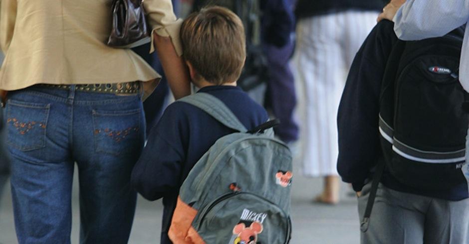 Este es el primer año de tu bebé en el colegio. ¿Cómo celebrarlo? (Foto: pequepolis.com)