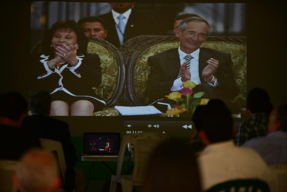 La trama política salpicó al matrimonio presidencial de esa época: Álvaro Colom y Sandra Torres. (Foto: Archivo/Soy502)