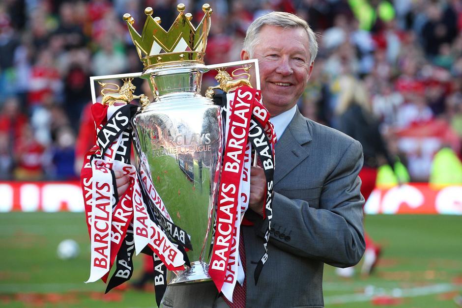 Ferguson dirigió durante 27 años al Manchester United.