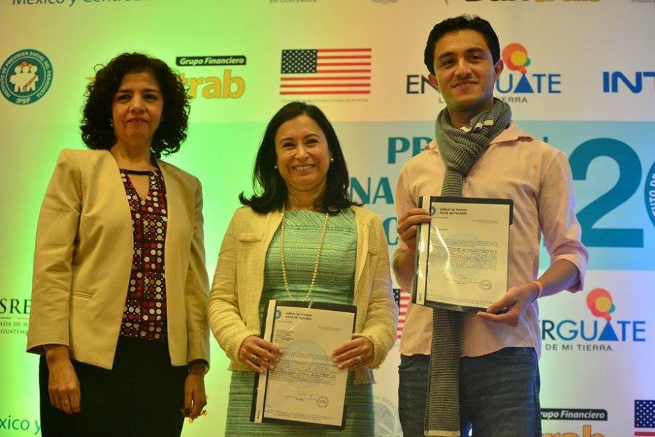 Soy502 y Nuestro Diario recibieron mención honorífica por distintos trabajos periodísticos. (Foto: Wilder López/Soy502)