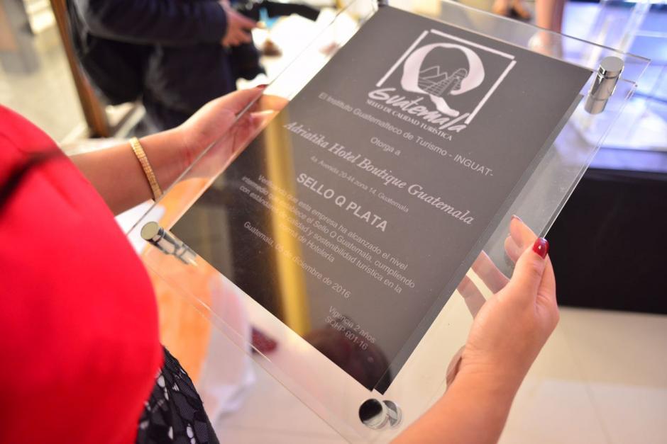 Esta es la primera ocasión en el Inguat entrega este reconocimiento. (Foto: Jesús Alfonso/Soy502)