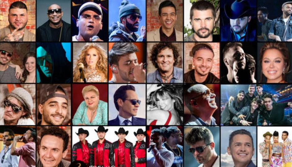 Los premios Lo Nuestro serán transmitidos esta noche a partir de las 19 horas por Univisión. (Foto: Univisión)