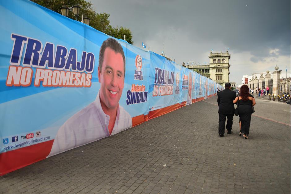 Buscaba la reelección del Partido Patriota en el gobierno. (Foto: Archivo/Soy502)