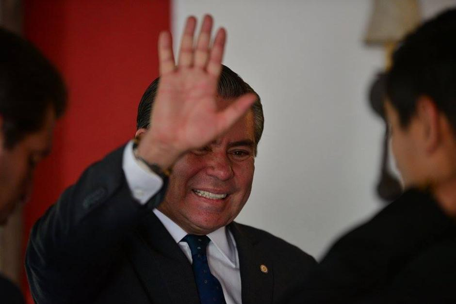 Mario Estrada presidenciable de UCN también firmó el Acuerdo de Chapultepec. (Foto: Wilder López/Soy502)