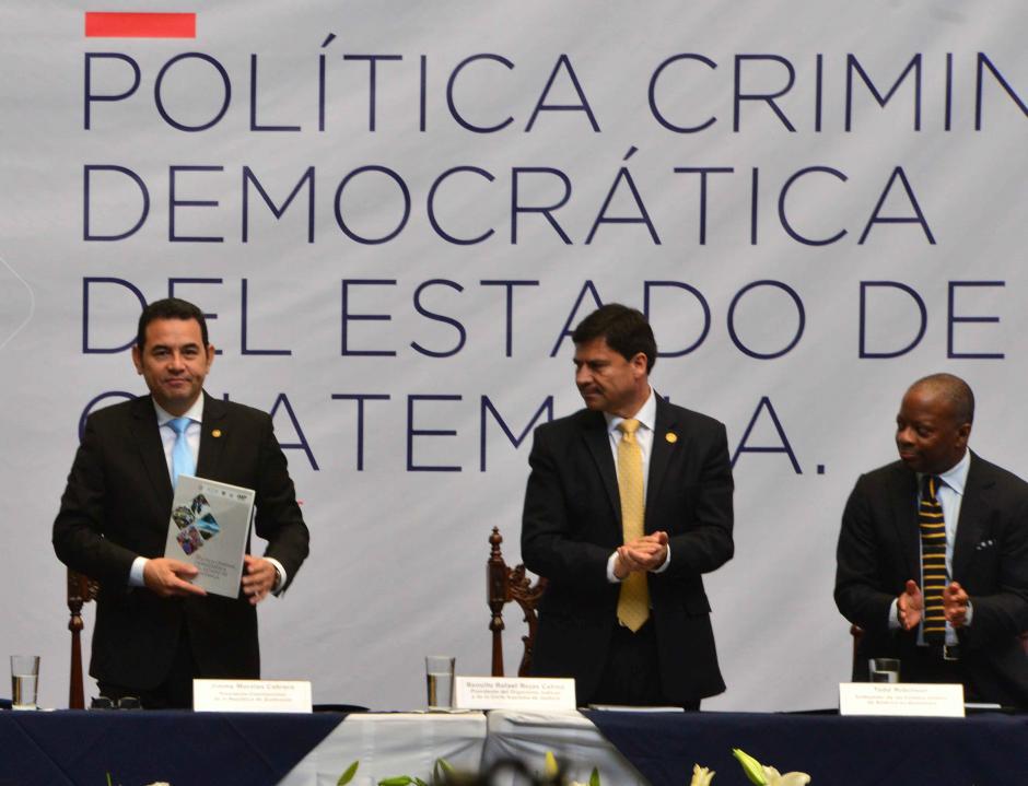 Los tres poderes del Estado apoyaron la iniciativa. (Foto: Jesús Alfonso/Soy502)