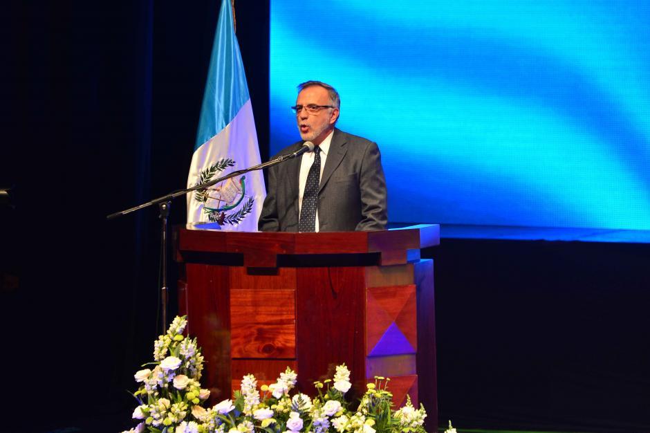 Iván Velásquez, jefe de la CICIG, es uno de los impulsores del proyecto. (Foto: Jesús Alfonso/Soy502)