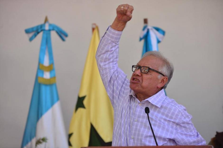 El mandatario criticó a los que están en contra del salario diferenciado. (Foto: Jesús Alfonso/Soy502)