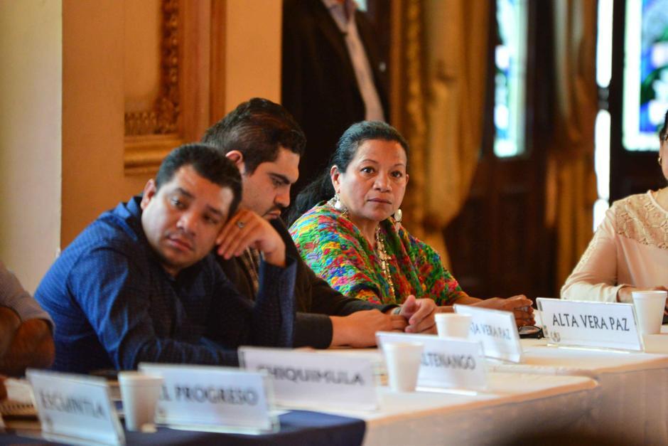 La gobernadora de Alta Verapaz, salió llorando de la citación de la bancada oficial FCN. (Foto: Archivo/Soy502)
